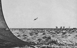 Egyptian IL-28 strikes IDF in Sinai during the War of Attrition.