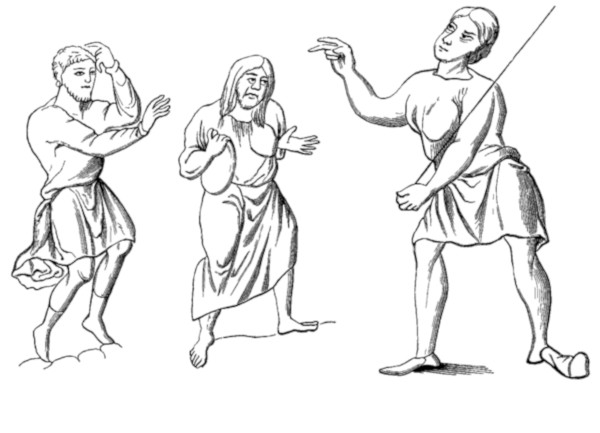 Clothing worn by Serfs or slaves.