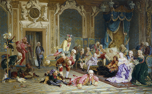 Jesters at the Court of Empress Anna